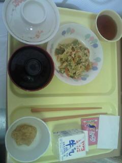四日目朝食